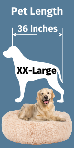 X-Large Calming Dog Bed