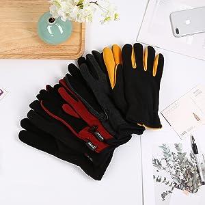 deerskin suede gloves