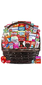 Valentine's Day valentines love boyfriend girlfriend husband wife candy chocolates snacks gift box
