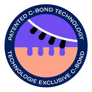 C-BOND Technology works like a magnet and is designed to bind to and lift out the entire blackhead