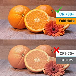 natural color  CRI above 80 perfect food color appliance bulb led with perfect color