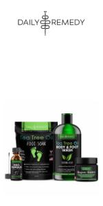 daily remedy callus remover pumice stone tea tree oil foot soak foot file body wash nail fungus balm