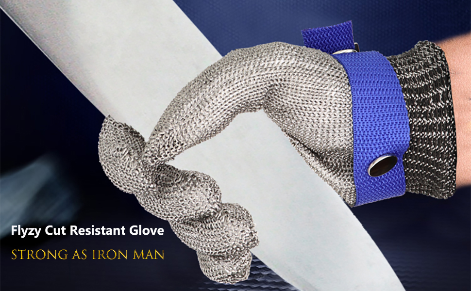 Strong Cut Resistant Glove