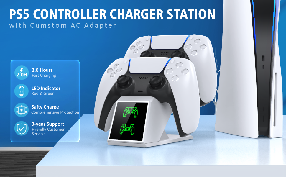 PS5 dual controller charger
