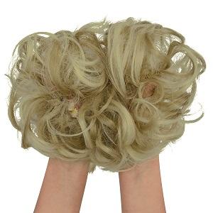 curly bun hair piece hair styles updos hair bun accessories for women