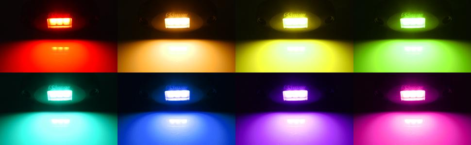 High brightness with pure color