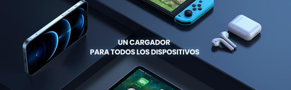 20W Cargador PD 3.0 para iPhone 12