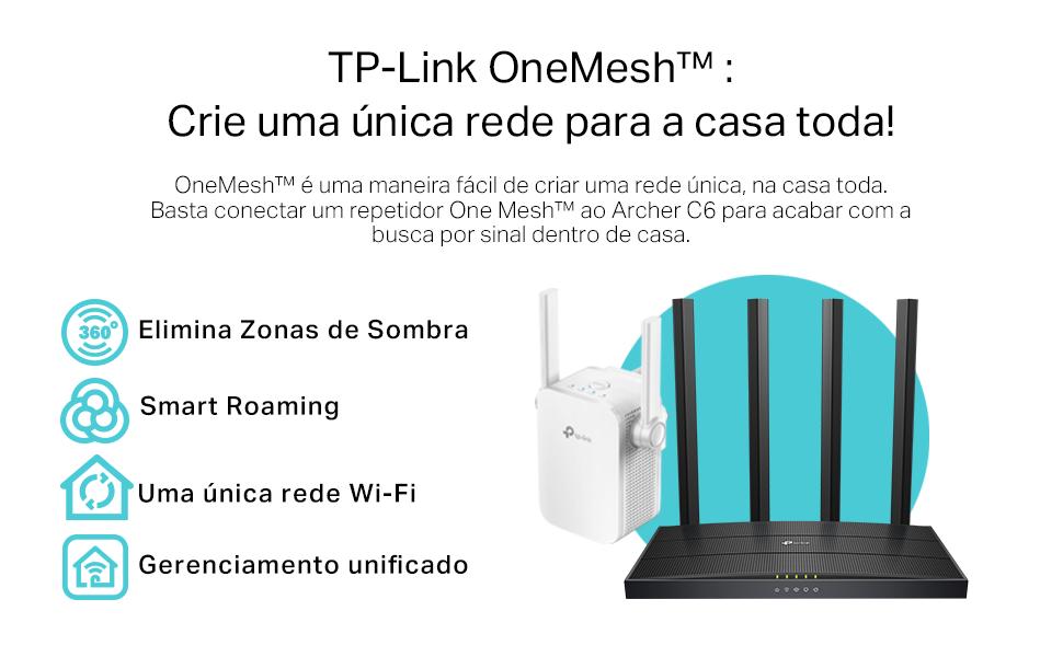 TP-Link OneMesh. Crie uma única rede para a casa toda