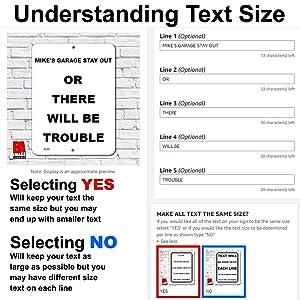 Understanding text size