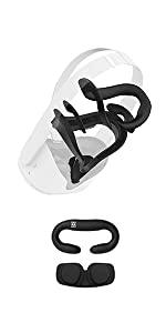 AMVR Resilient VR Facial Vent Soft Interface Bracket cover for Oculus Quest 2