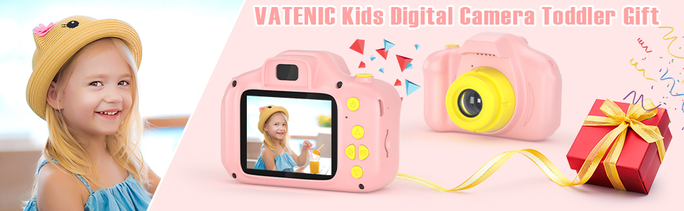 VATENIC kids digital camera toddler gift
