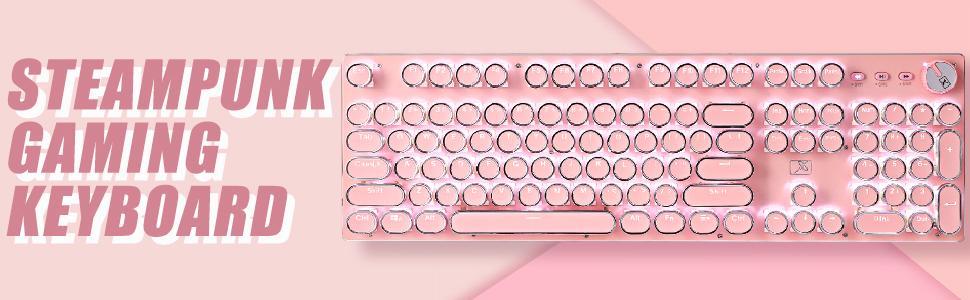 PINK punk keyboard