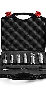 carbide annular cutter set 8pcs