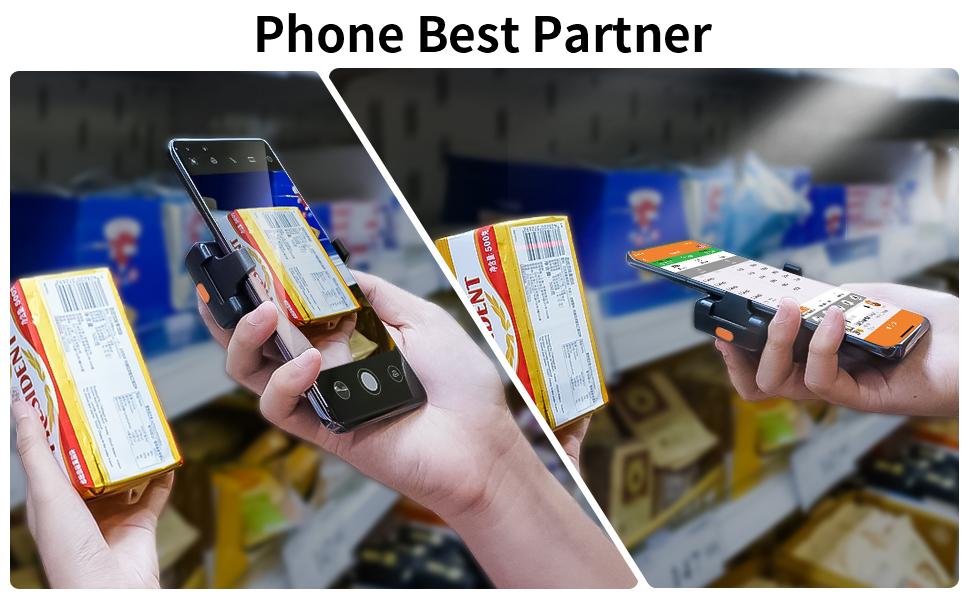 eyoyo phone barcode scanner bluetooth