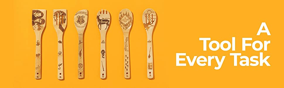 bamboo cooking spoons