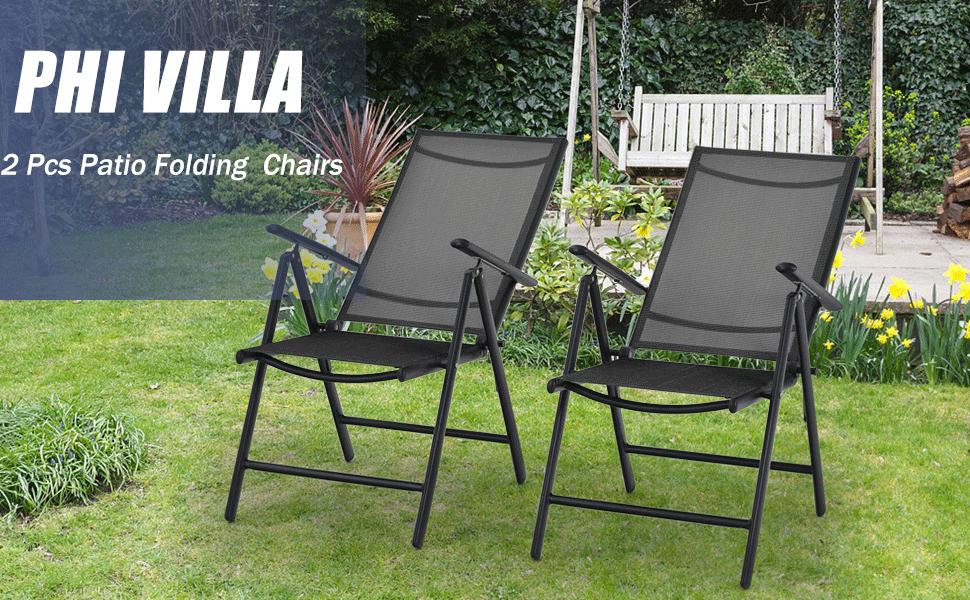 patio folding chairs
