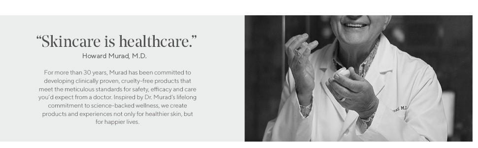 murad beauty luxury beauty doctor howard murad skincare