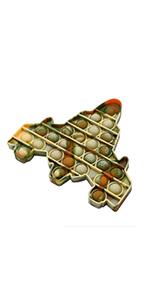 Pop push fidget toy Camouflage fighter