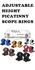 adjustable scope rings