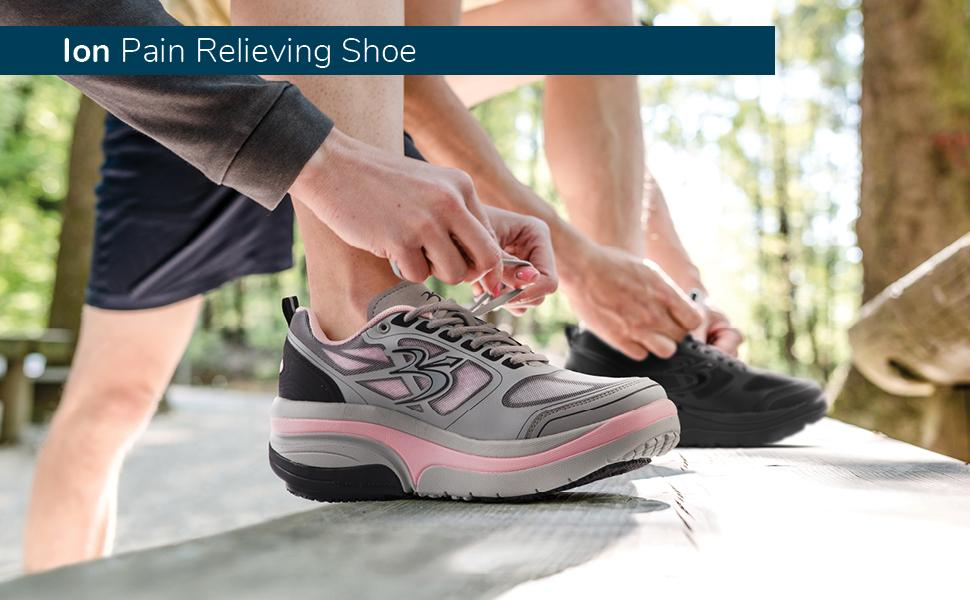 GDEFY Ion Pain Relieving Shoe Banner