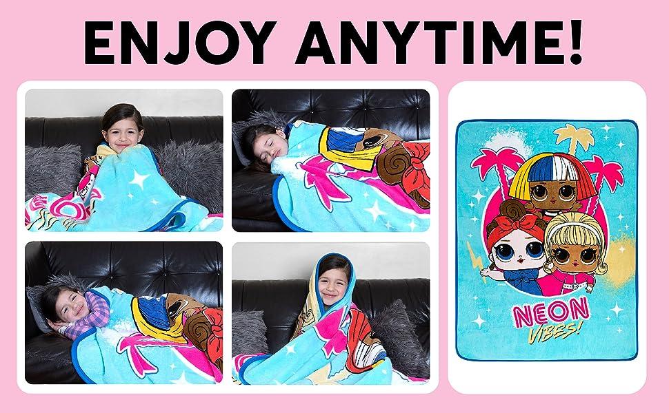 lol l.o.l. surprise dolls kids bedding bath children character cartoon animated accessories
