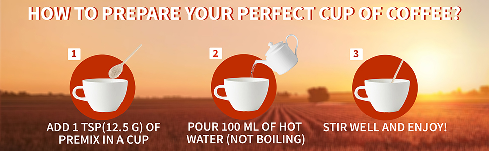 coffee premix instant 1kg how to make prepare vending machine easy use