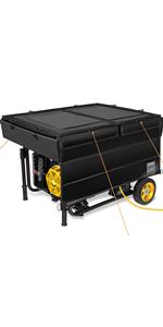 generator running cover