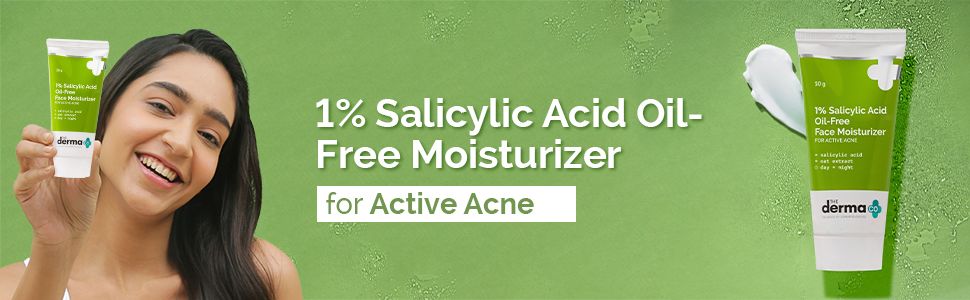 1% Salicylic Acid Oil-Free Face Moisturizer