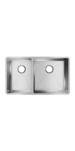 ECTRU32179LT double bowl sink