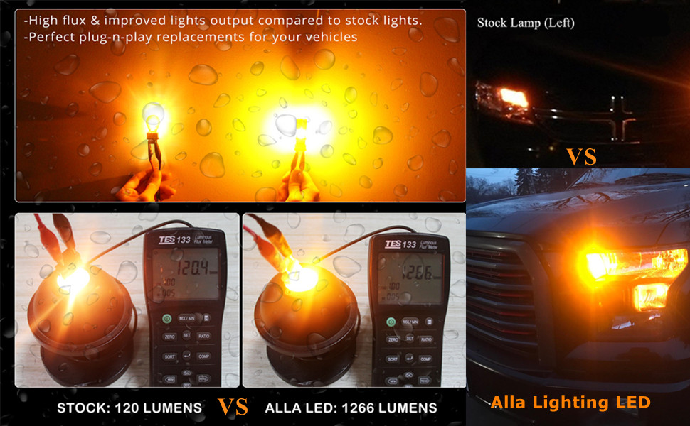 7443-7440-CANBUS-LED-Turn-signal-lights-amber-yellow-7440NA-7444NA-WY21W-red-7443ll-7440ll-12v
