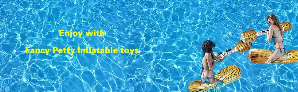 enjoy with Fancy Petty Inflatable toys
