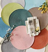 Round placemat collection