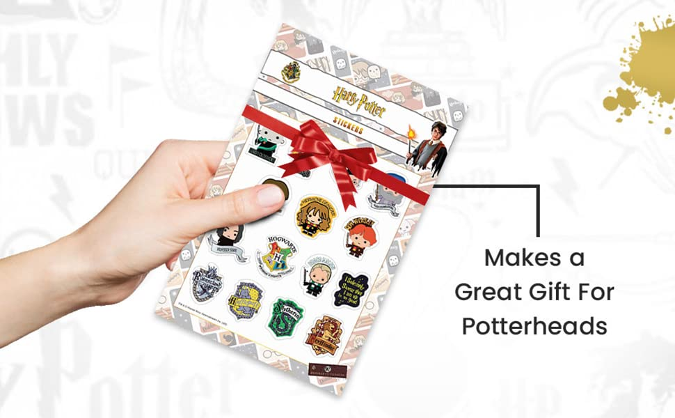 Harry Potter sticker sheet