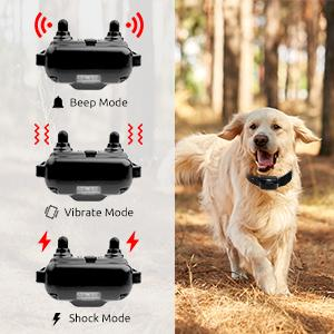 dog shock collar 3 modes