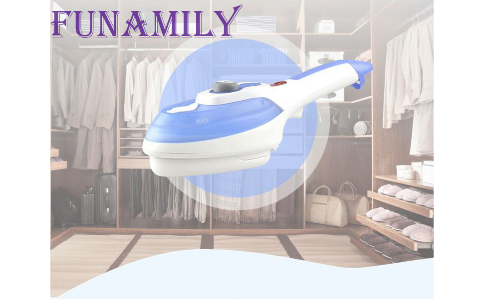Handheld Steamer Iron for Clothes