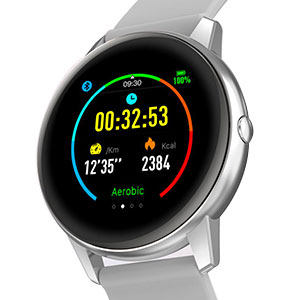 smart watch with connected gps