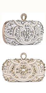 Abendtasche Damen Diamant Clutch Bag Kette Shiny Strass