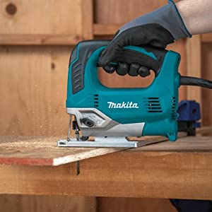 JV0600K top handle jig saw corded power tool teal woodworking
