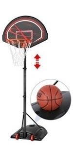 7-9ft Portable Basketball Hoops amp; Goals
