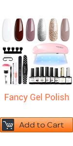 brown gel nail polish