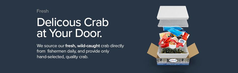 Delicious crab.