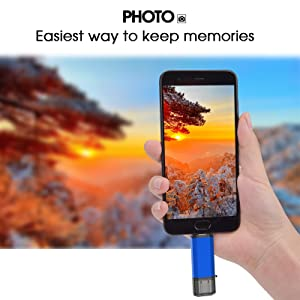 usb c flash drive thumb drive photo stick