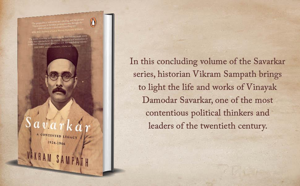 savarkar, vikram sampath, 20th century, vinayak damodar savarkar, political thinker