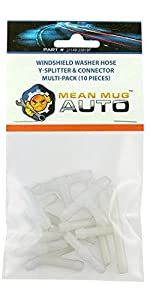 Windshield Washer Hose I Y T Splitter Connector Multi-Pack Universal