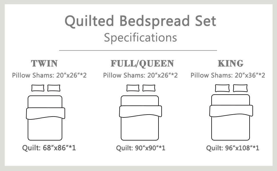 quilt size