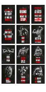 Fitness Poster Set