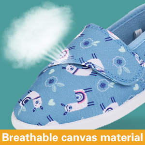 Breathable canvas material