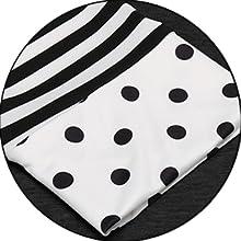 polka dot shirt three quarter tshirt 3 4 sleeve tees basic t-shirt womens tees