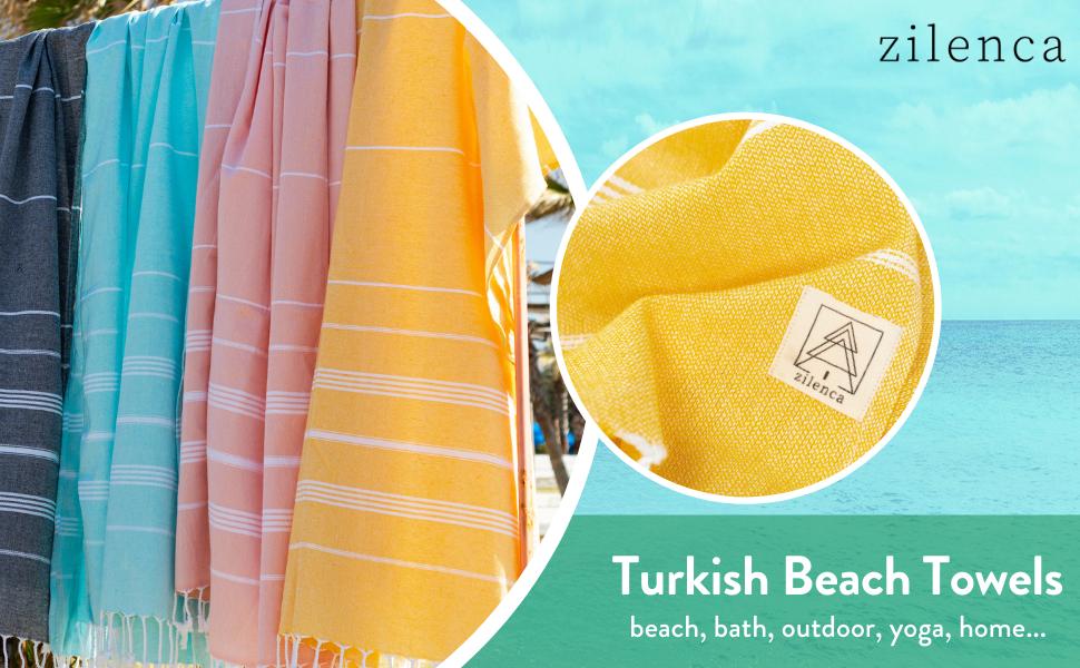 zilenca-turkish-beach-towels-large size images