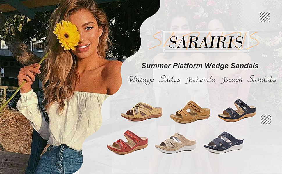 slip-on sandals for women platform sandals for women